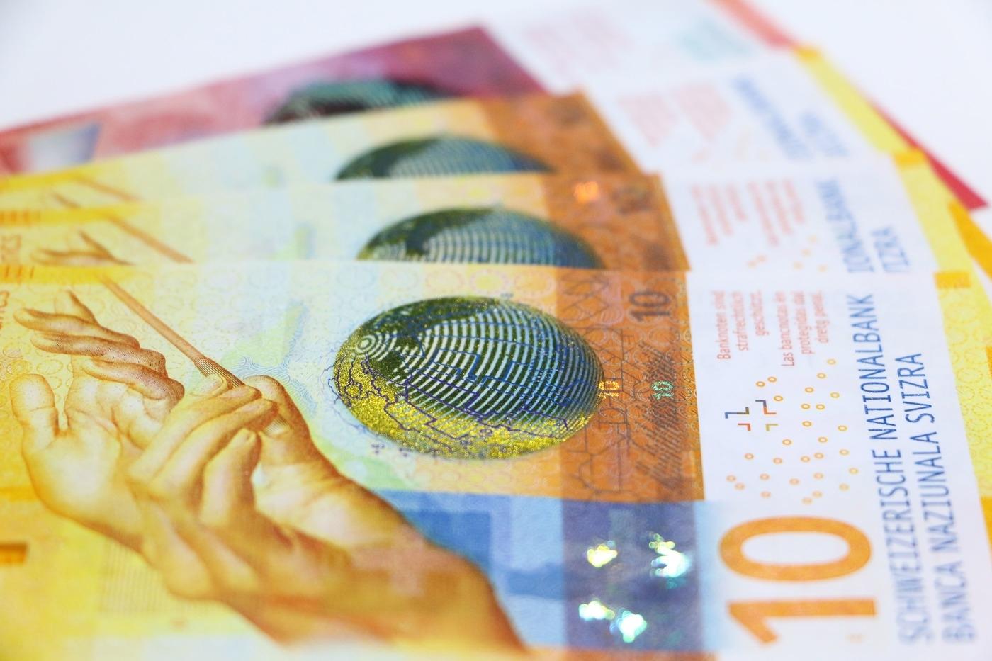 Schweizer Franken Chf Kaufen Reisebank Ag