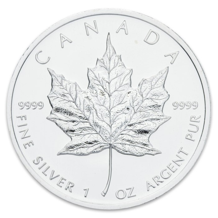 1/1 Oz Maple Leaf Silber